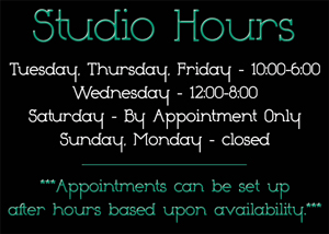 Sweeney Photography Studio Hours